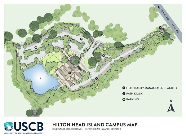 Hilton Head Island Campus Map